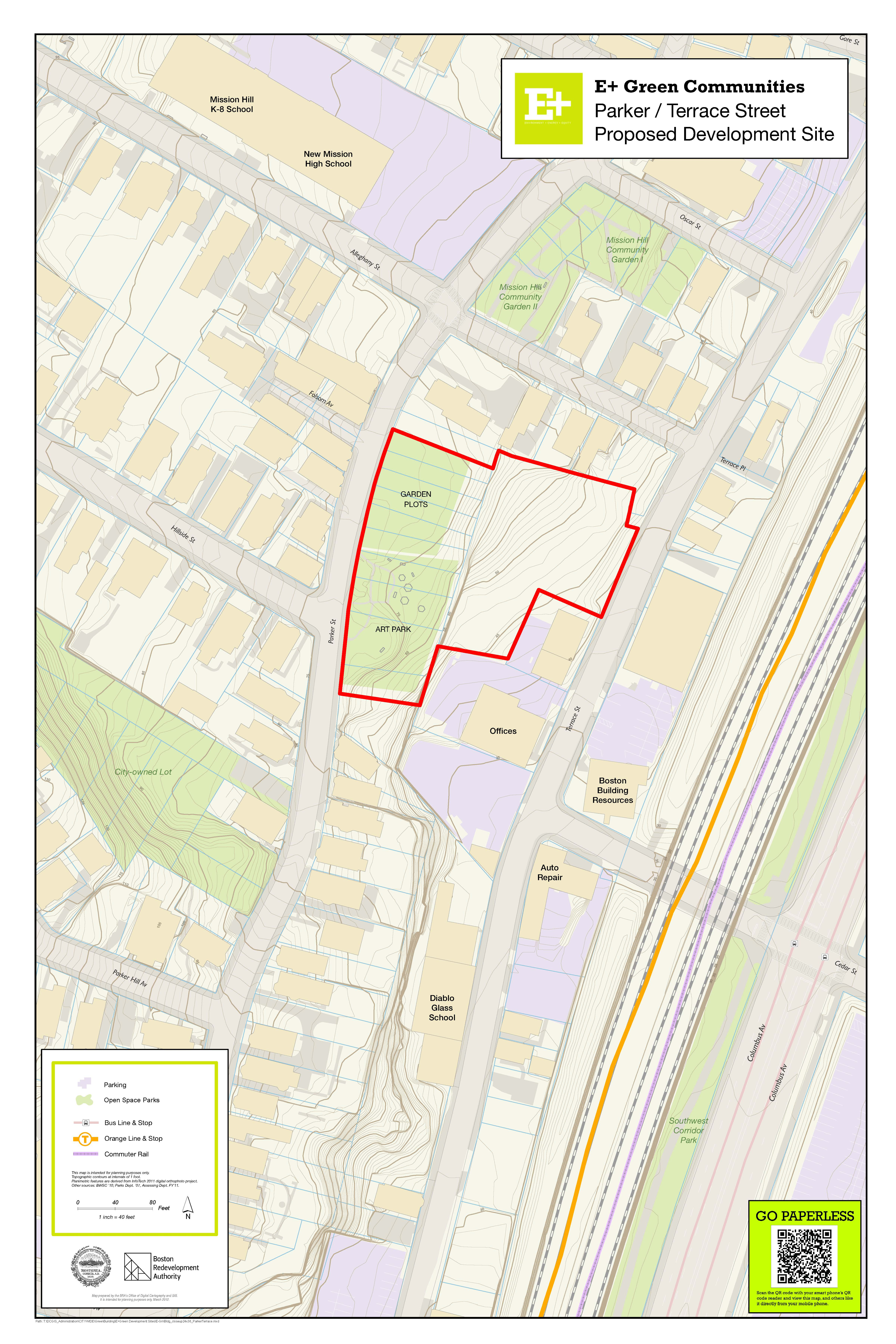 Mission Hill: RFP – Issued on March 18, 2013 and closed on June 2